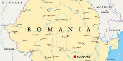 rumunija mapa Bukureštu mapu   Mape Bukureštu (Rumunija) rumunija mapa